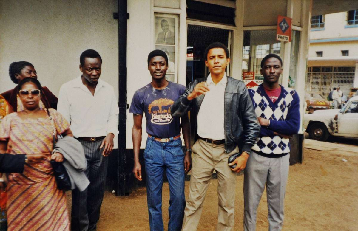 Barack obama early photos Barack Obama's life and career in 50 pictures - Telegraph