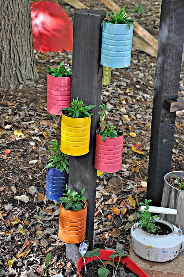 Поделки для сада своими руками из банок