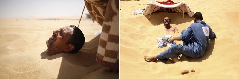 Песочные ванны в Египте – лекарство от всех болезней