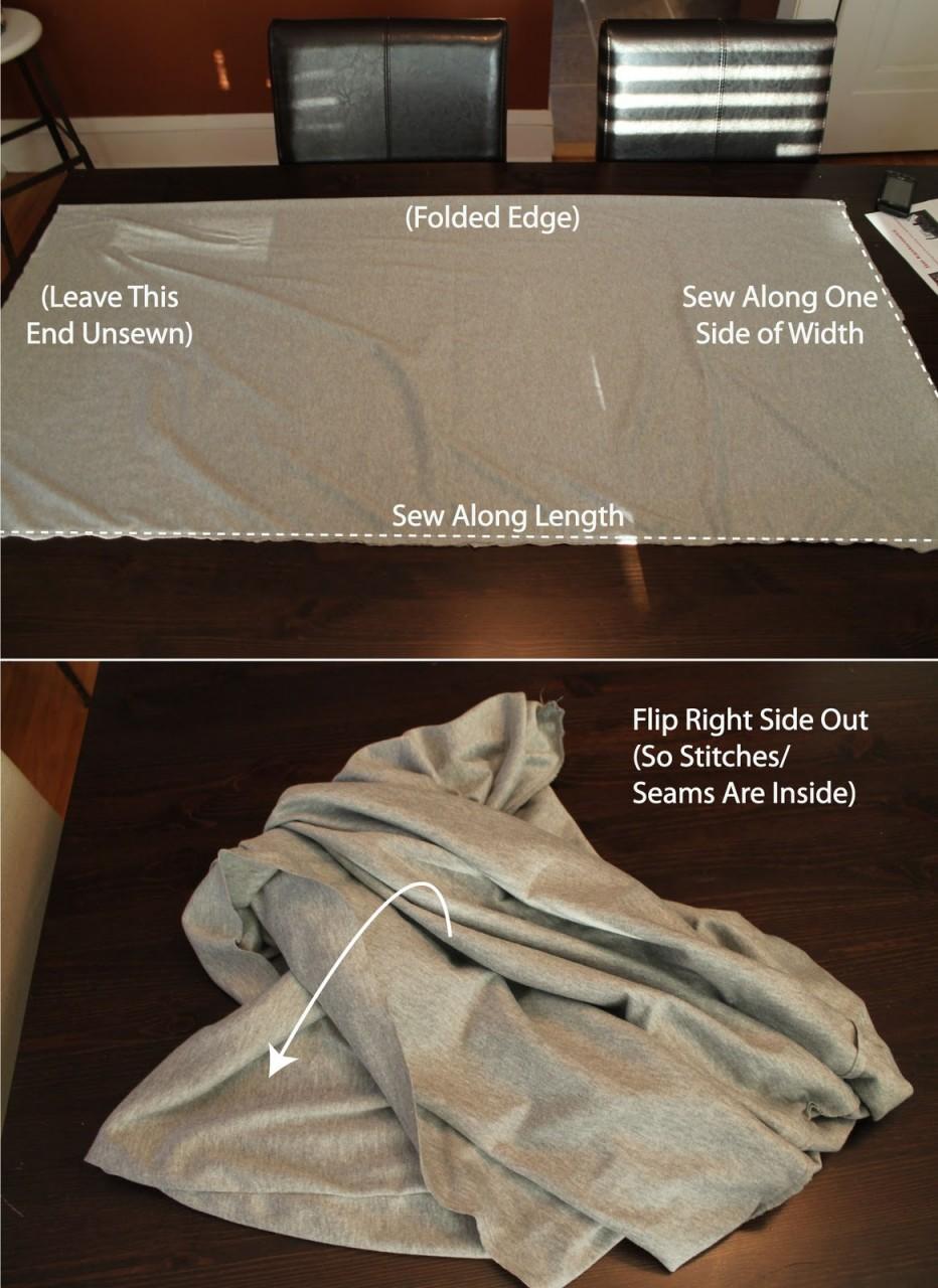 Оригинальный шарф-трансформер. МК