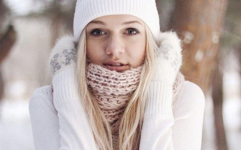 Русские девушки зимой фото в городе фото 19-690