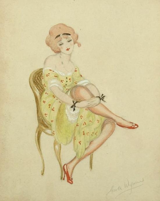художник Герда Вегенер (Gerda Wegener) картины – 17