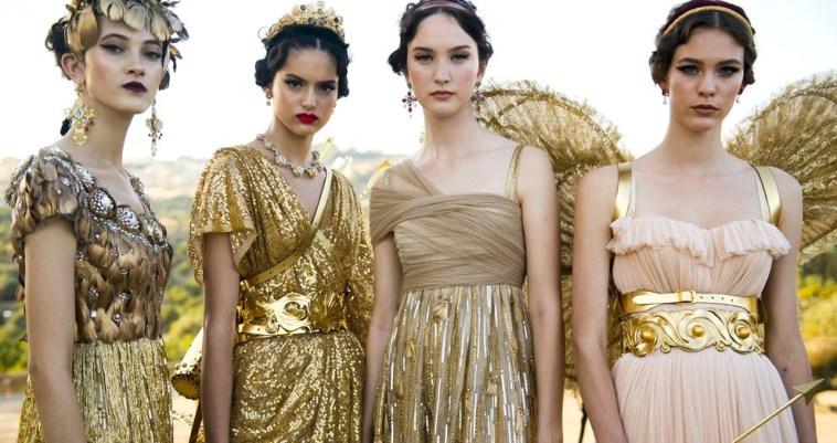 Эстетика Древней Греции на сицилийском показе Dolce & Gabbana Alta Moda