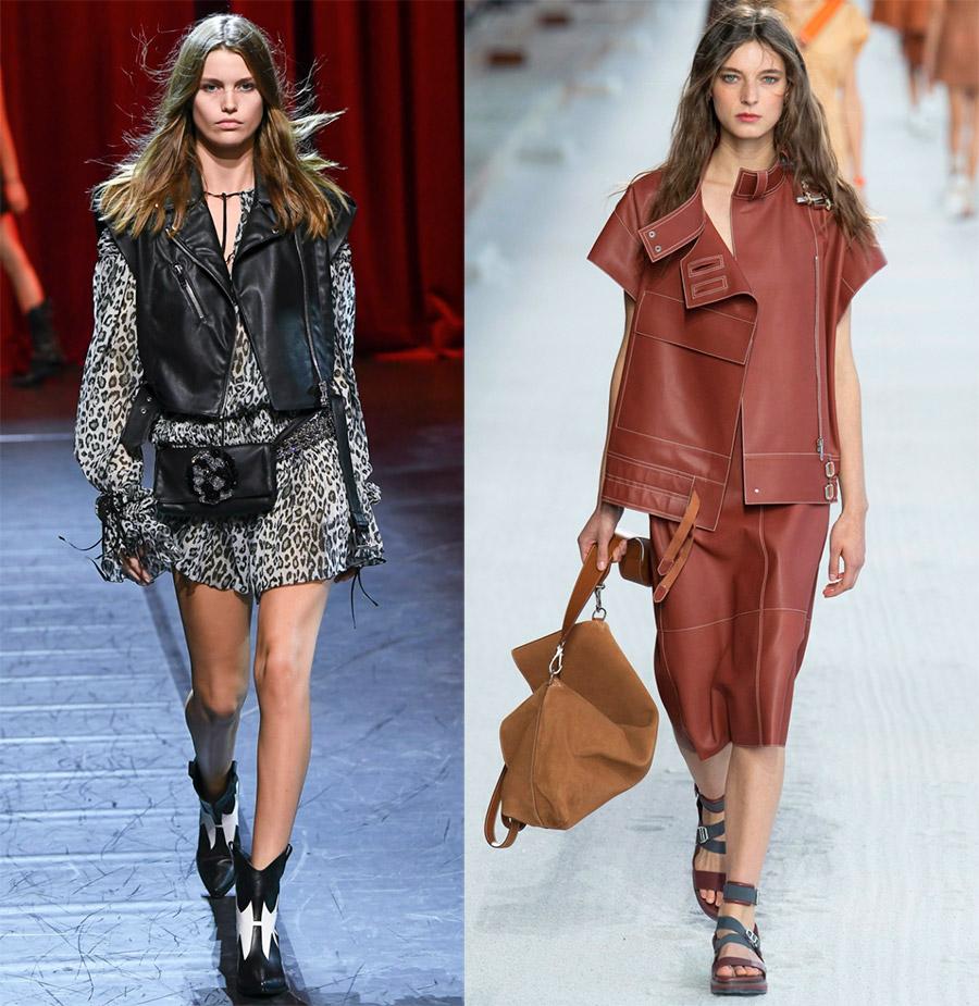 Женские жилеты от модных брендов