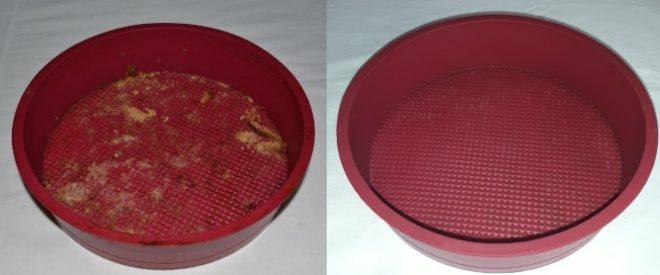 Как отмыть силиконовые формы для выпечки