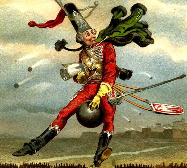 Мюнхгаузен: 17 реальных фактов жизни барона, хвастуна и враля