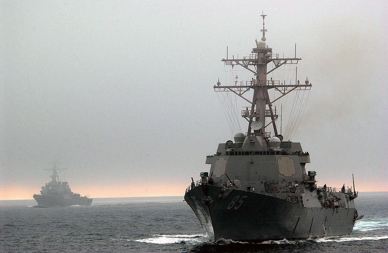 Эсминец ВМС США направлен в Черное море