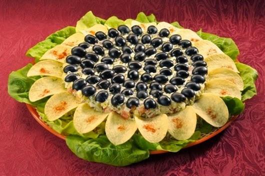 Топ-5 вкусных салатов к Новогоднему столу