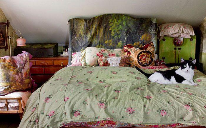 Деревянное изголовье кровати своими руками