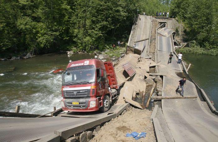 За ремонт дорог заплатят дальнобойщики