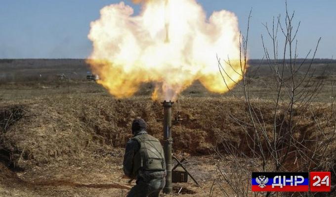 Сводка с линии фронта ДНР на 19 июля