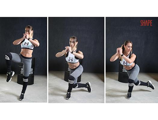 Круговая экспресс тренировка на все мышцы
