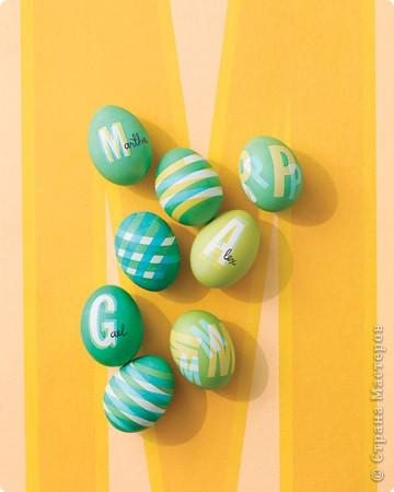 Красим пасхальные яйца Original