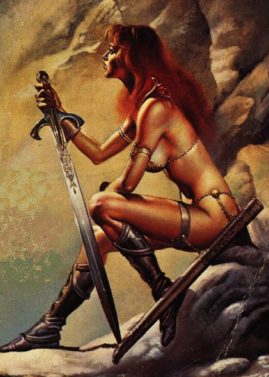 Секс-символы 90-ых: Рыжая Соня