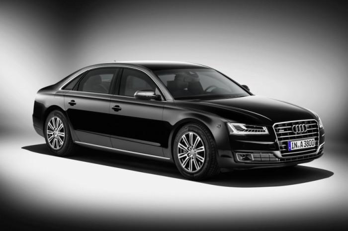 Audi A8 Security.