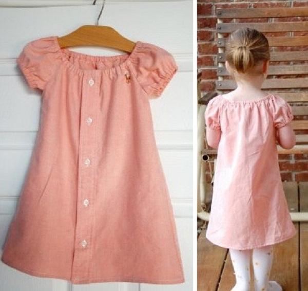 Платье своими руками для дочки