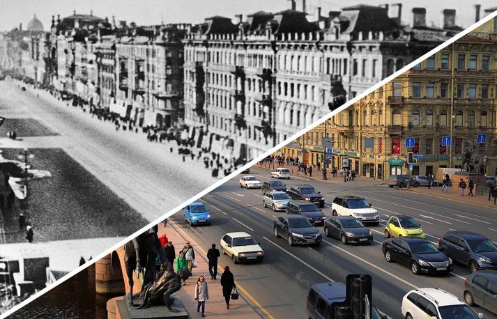 70-летие Победы: как изменились города России со времен войны