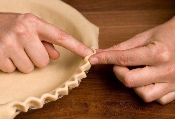 6 способов украшения краёв пирога