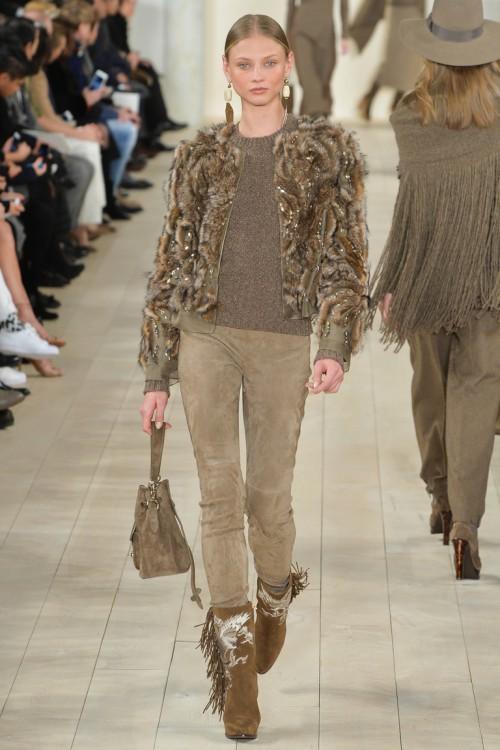 осень-зима 2015-2016, NYFW, knitwear, Неделя моды, вязана мода, кэмел, вязаный джемпер (фото 7)