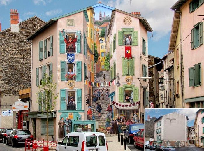 ������� ������ � ������ Le Puy-en-Velay