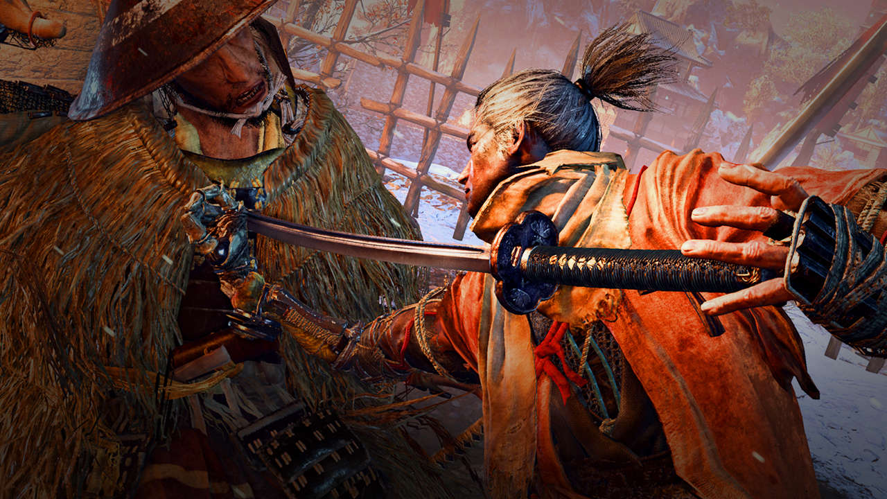 В Sekiro: Shadows Die Twice …