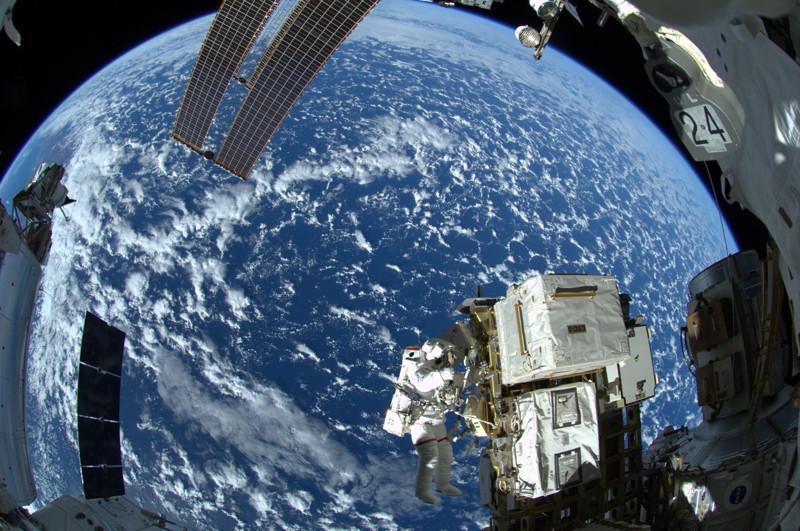 1. Наша планета с борта МКС. наш мир, удивительные фотографии