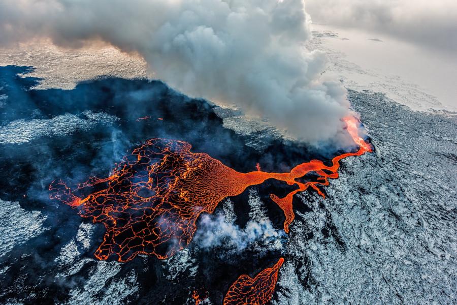 Извержения вулканов: 30 потрясающих фотографий со всего мира вулкан, фото
