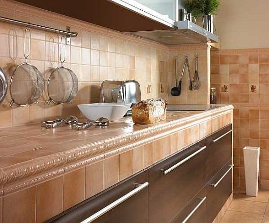 Кухни столешницы из плитки сделать своими руками 81