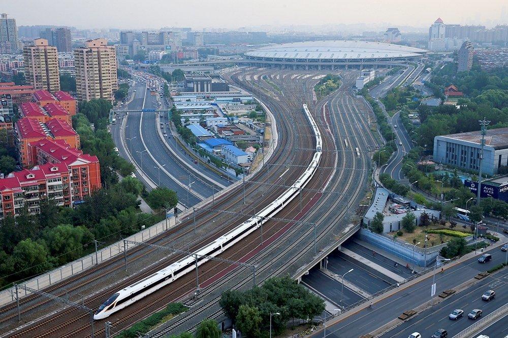 От Москвы до Пекина решили запустить высокоскоростные поезда
