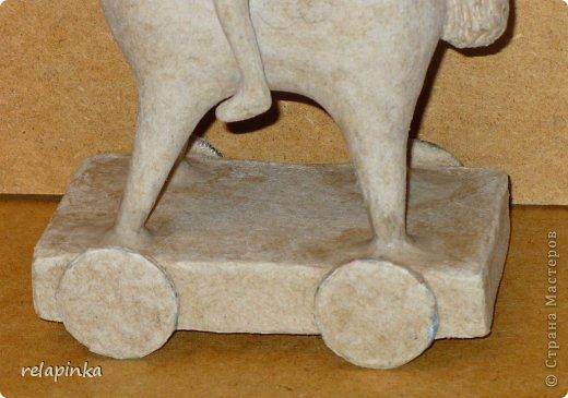Мастер-класс Поделка изделие 23 февраля Папье-маше Принц на лошадке мастер-класс Бумага фото 40