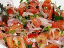 Популярный узбекский салат Ачик-Чучук - рецепт с фото