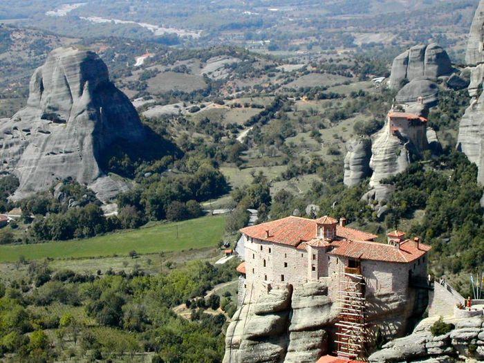 Фото Монастыри Метеоры, Греция. 26 (700x525, 101Kb)
