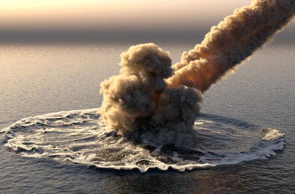 Найдены первые метеориты, упавшие в океан