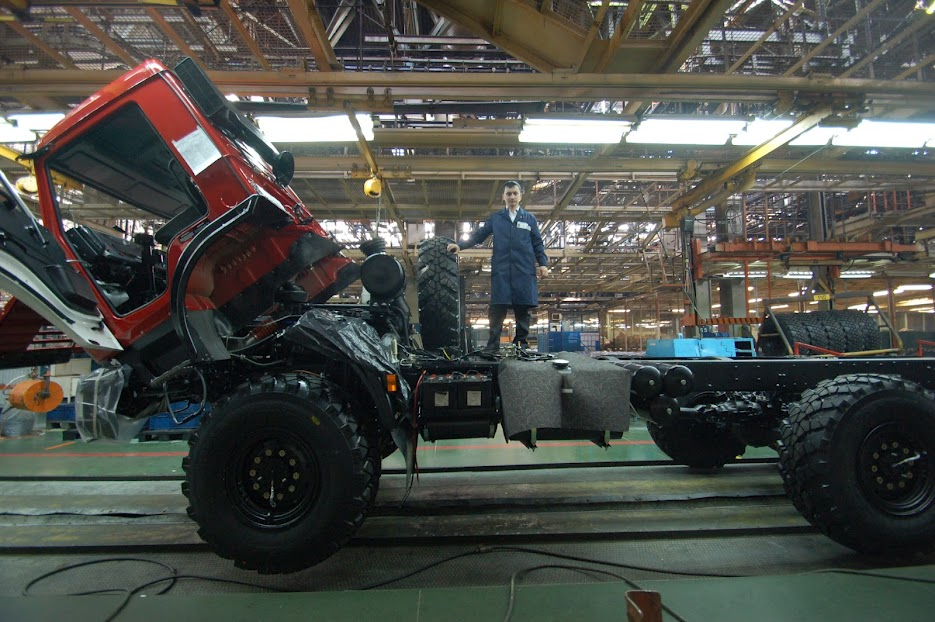 DSC 8519 КамАЗ выпустил 2 000 000 й грузовик