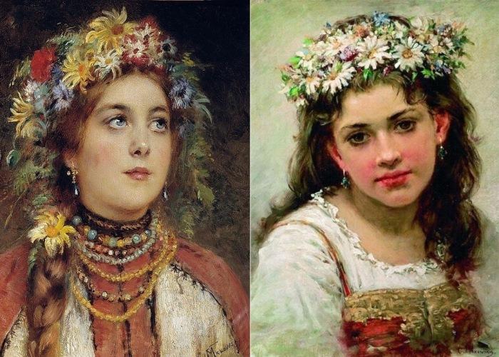Девушки Руси