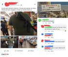 Man tries to say he open carried in Walmart following the recent shootings; forgets to crop out background