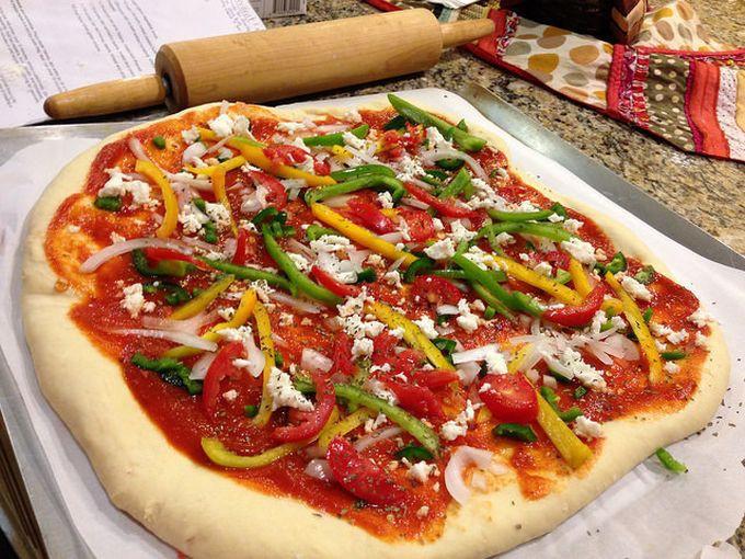 3. В тесто для хлеба и пиццы вода, макароны, советы