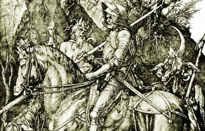 15 малоизвестных и занимательных фактов о гравюре Альбрехта Дюрера «Рыцарь, Смерть и Дьявол»