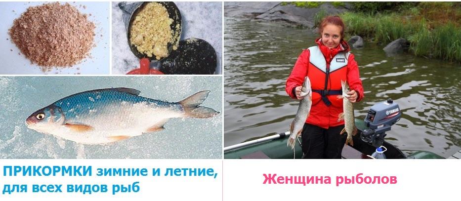 1551. ПРИКОРМКИ и ЖЕНЩИНЫ на рыбалке