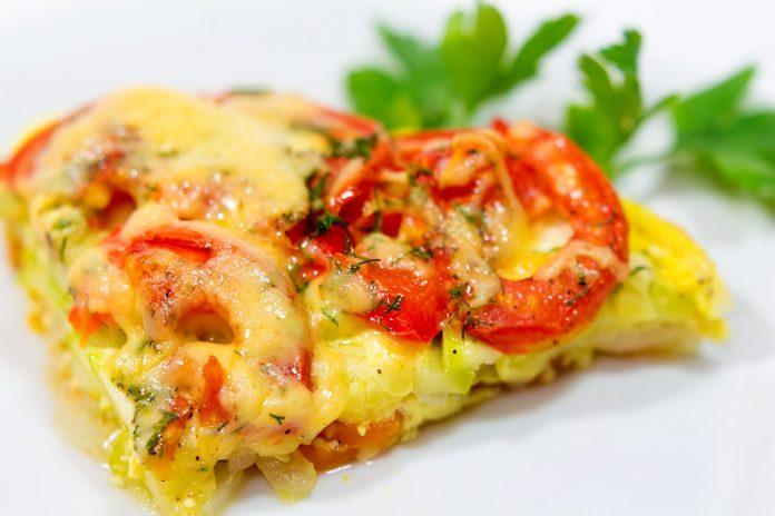 ПП-ужин — вкусная и сочная овощная запеканка