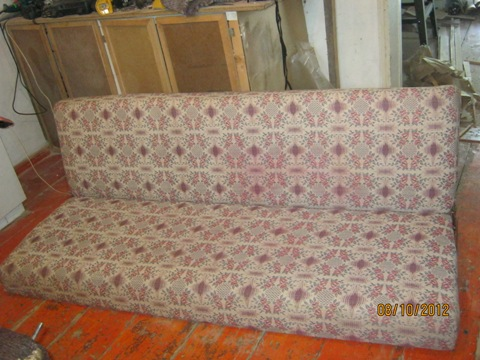 Обновляем диван самостоятельно.