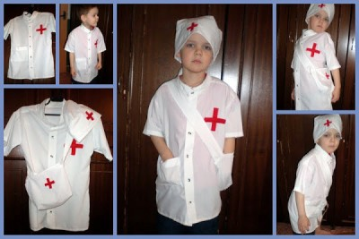 Сшить детский костюм медсестры своими руками 45