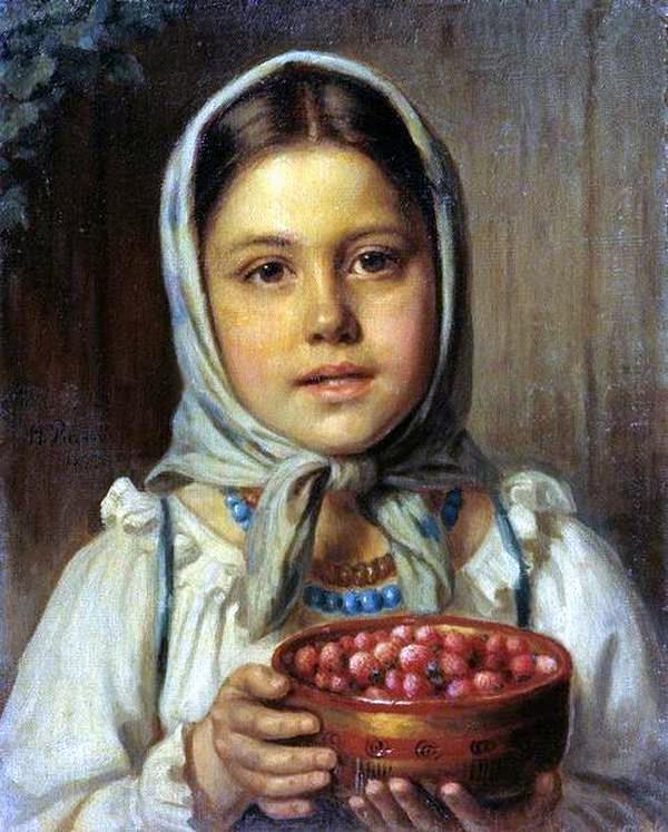 Светлый и радужный мир детства в живописи