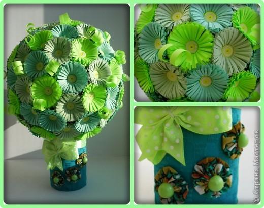 Мастер-класс Поделка изделие Квиллинг Мои цветочные шары и маленький МК запись пополняется Бумага фото 1
