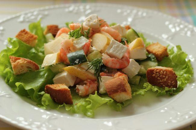 Салат на ужин быстро и вкусно с