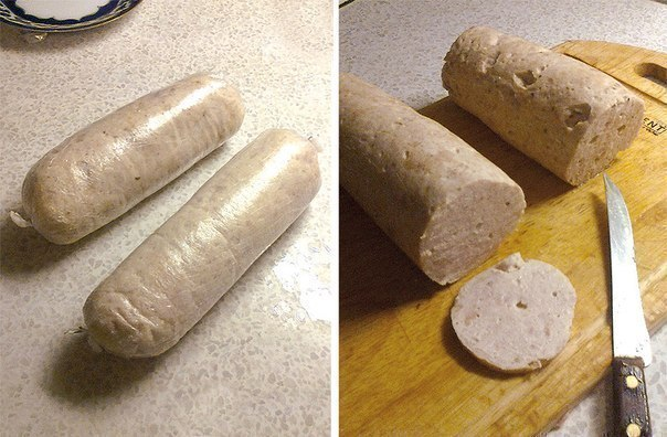 Колбаски своими руками фото