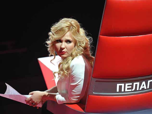 Пелагея расплакалась во время выступления семилетнего нижегородца на шоу «Голос»