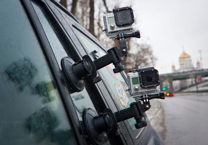 Камеры GoPro станут доступны в серийных автомобилях