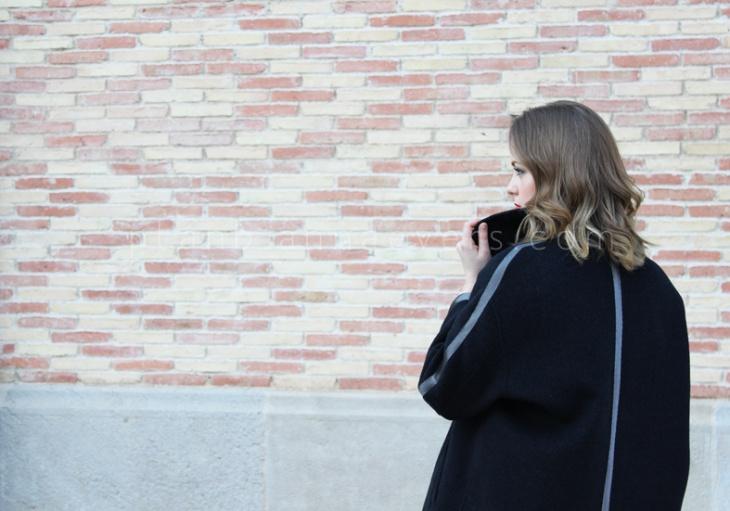 как перешить размер пальто