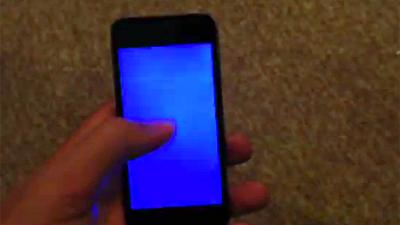 отстирать что делать если экран айфона не показывает результате того